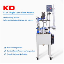 10L Chemical Plug Flow Glass Reactor