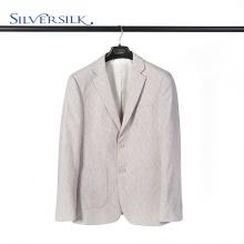 Veste britannique en laine et polyester à deux boutons pour homme