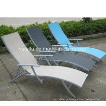 Suntime Garden Alumínio Pátio Outdoor Textilene Chaise Lounge