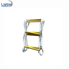 Nylon Emergency Folding Fire Escape Rope Ladder