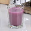 Lavanda Jasmine Basic Scented Candle in Clear Jar