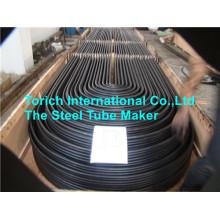 Tubo de aço inoxidável de carbono de alta pressão e curvatura