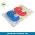 2PCS stationery tapes with 2pcs tape dispenser set