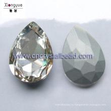 Серебро, покрытие бусины капля воды для Поиск ювелирные изделия и украшения