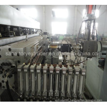 Plastic Machinery PE/PP/PC Hollow Grid Sheet Extrusion Line