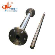 Single screw extruder line and bimetallic barrel for PTA welding machine