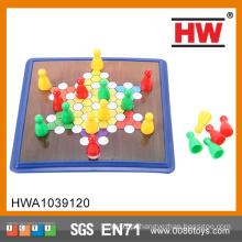 Hot Sale baratos Kids Educational Board Jogo Plastic Checker Pieces