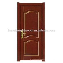 Puerta interior de madera de melamina con diseño de puerta de papel de nido de abeja