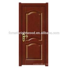 Porta de madeira da melamina interior com projeto da porta do papel do favo de mel