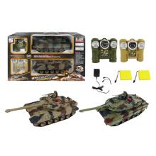 2.4G Kunststoff Schlacht R / C Tank (10263397)