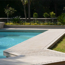 Synthetic Wood Decking Flooring for Swimming Pool Application