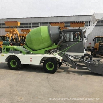 1.8CBM self-loading concrete mixer truck