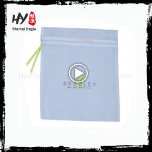 Venda quente de zíper de fechamento não tecido laminado sacola feita na China