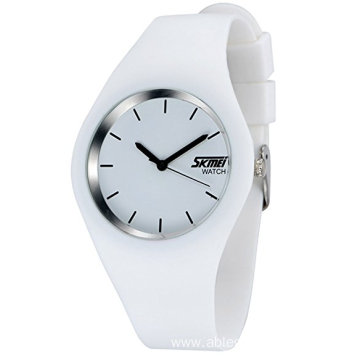 Simple Style Silicone Strap sport Watch