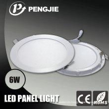 Luz del panel de techo de 6W LED 120X120 para interior con CE