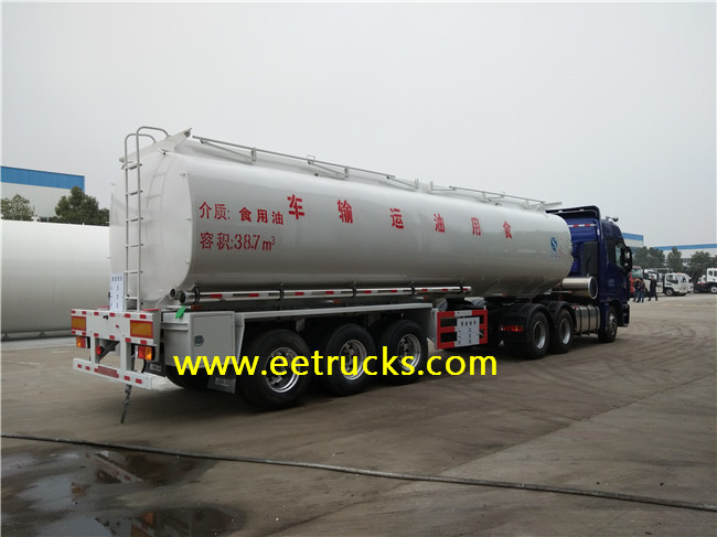 Edible Oil Truck Trailers