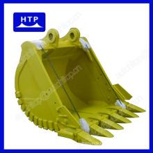 Seau d'excavatrice durable élevé pour des machines du volume 1.7m3 de Caterpillar 330