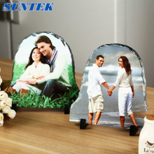 DIY Coated Sublimation Blank Rock Photo Slate for Decoration Stone