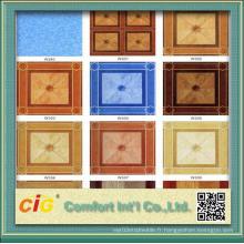 Revêtement de sol en vinyle PVC chinois économique avec différents modèles