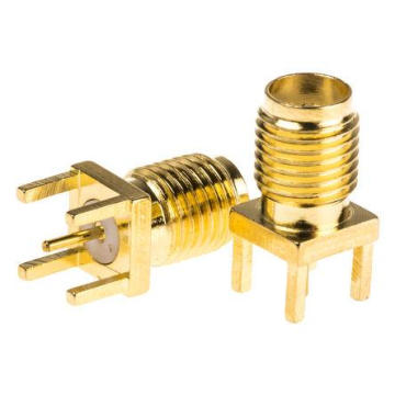 Straight SMA female connector for PCB