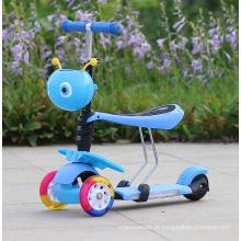 3 Rodas Chute Scooter Crianças Criança Criança Brinquedo Ao Ar Livre