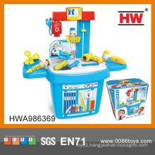 2015 Best selling children plastic toy doctor kit