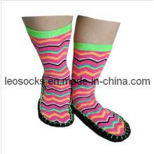 Neue Design Damen Schuh Socken (DL-HMS-04)