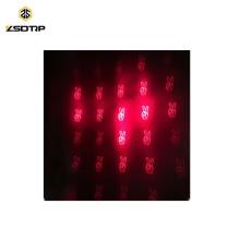 SCL-2015110003 Universal Lights Moto LED Feu arrière Feu de freinage laser