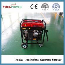 4kVA único gerador de gasolina Power Power Set para venda quente