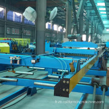 Tuiles de toit froid roulent formant des machines de production