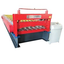 Red container Trapezoidal roll forming machine