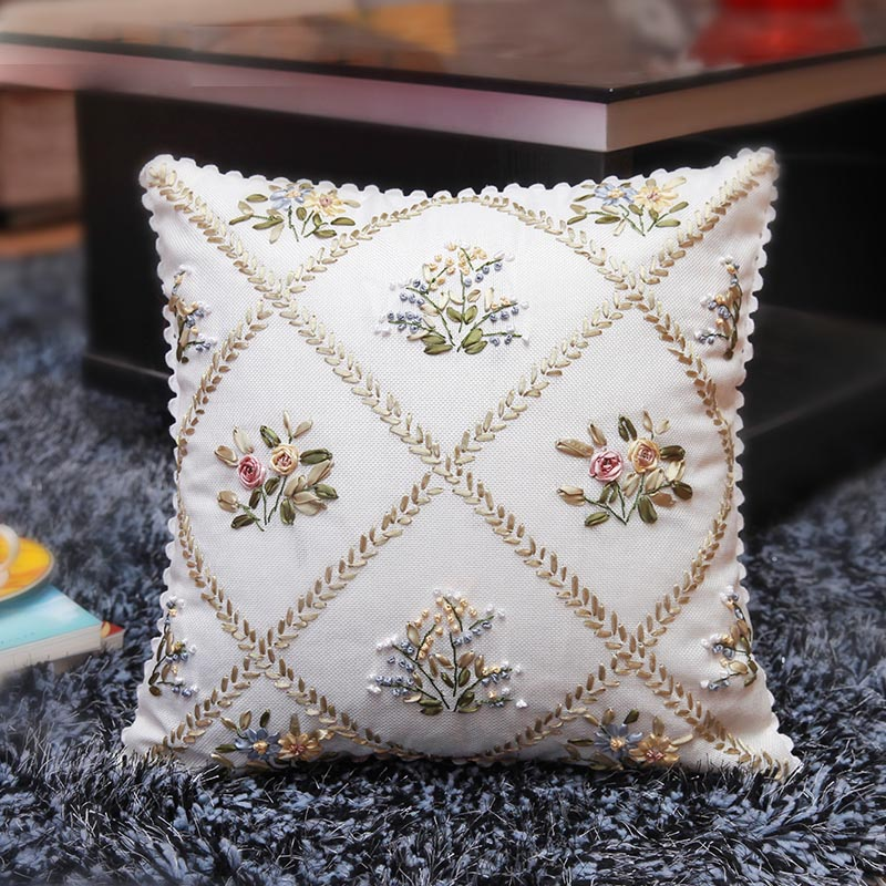 Garden Ribbon Embroidery