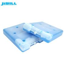 Bloco de gelo reusável dos elementos 600ml refrigerar do produto comestível para o transporte da corrente fria