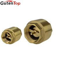 Gutentop High Quality American Style 3 / 4inch Válvula de retención de latón sin plomo con extremos roscados NPT