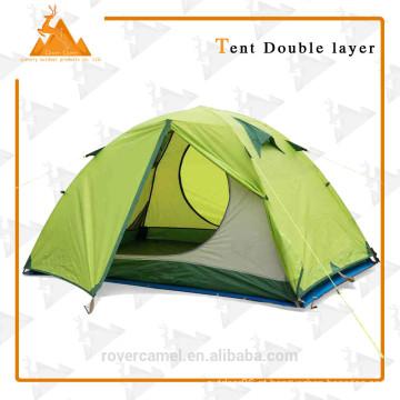 205 * 205 * 120cm duplo duplo camada impermeável pessoa ao ar livre acampar barraca de piquenique de engrenagem durável