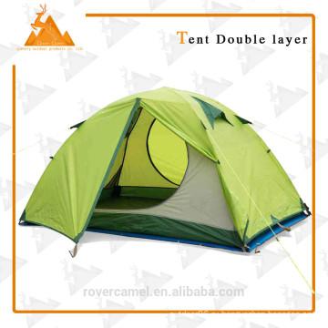 205 * 205 * 120 см двойной лица водонепроницаемый двойной слой на открытом воздухе кемпинг палатка пикник прочный Gear