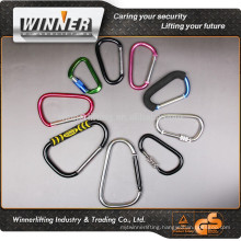 High polished Carabiner and climbing carabiner hook