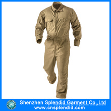 Atacado Trabalho Vestuário Workwear Coverall Khaki Mecânico Macacões