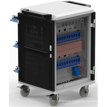 24 units with Led Indicator and electornic charging cart for ipad