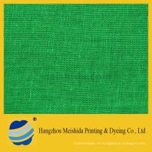 55/45 tela de lino de algodón