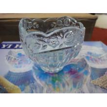Bol en verre avec des ustensiles de cuisine design magnifique Kb-Hn0486