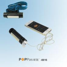 6PCS SMD LED 18650 Rechargeable Power Bank Flashlight /Headlamp Poppas-6616