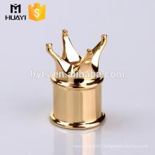 luxury zamac crown cap for perfume bottle