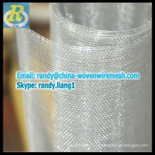 SS acabamento alumínio mosca tela da janela
