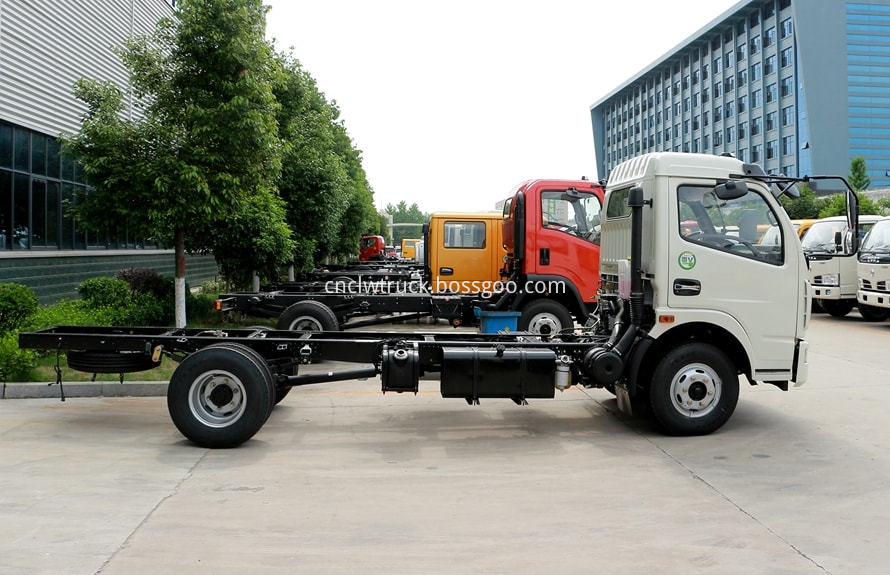 pesticide spraying truck chassis 3