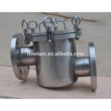Filtro magnético de aço inoxidável de boa qualidade em linha