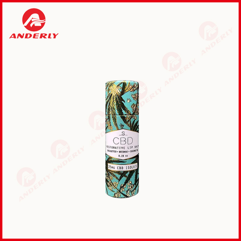 Custom Solid Fragrance Packaging Paper Balm