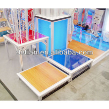 Aluminum Modular exhibition stand flooring with modern design