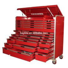 Cajón para herramientas resistente con cajones y mango de aluminio