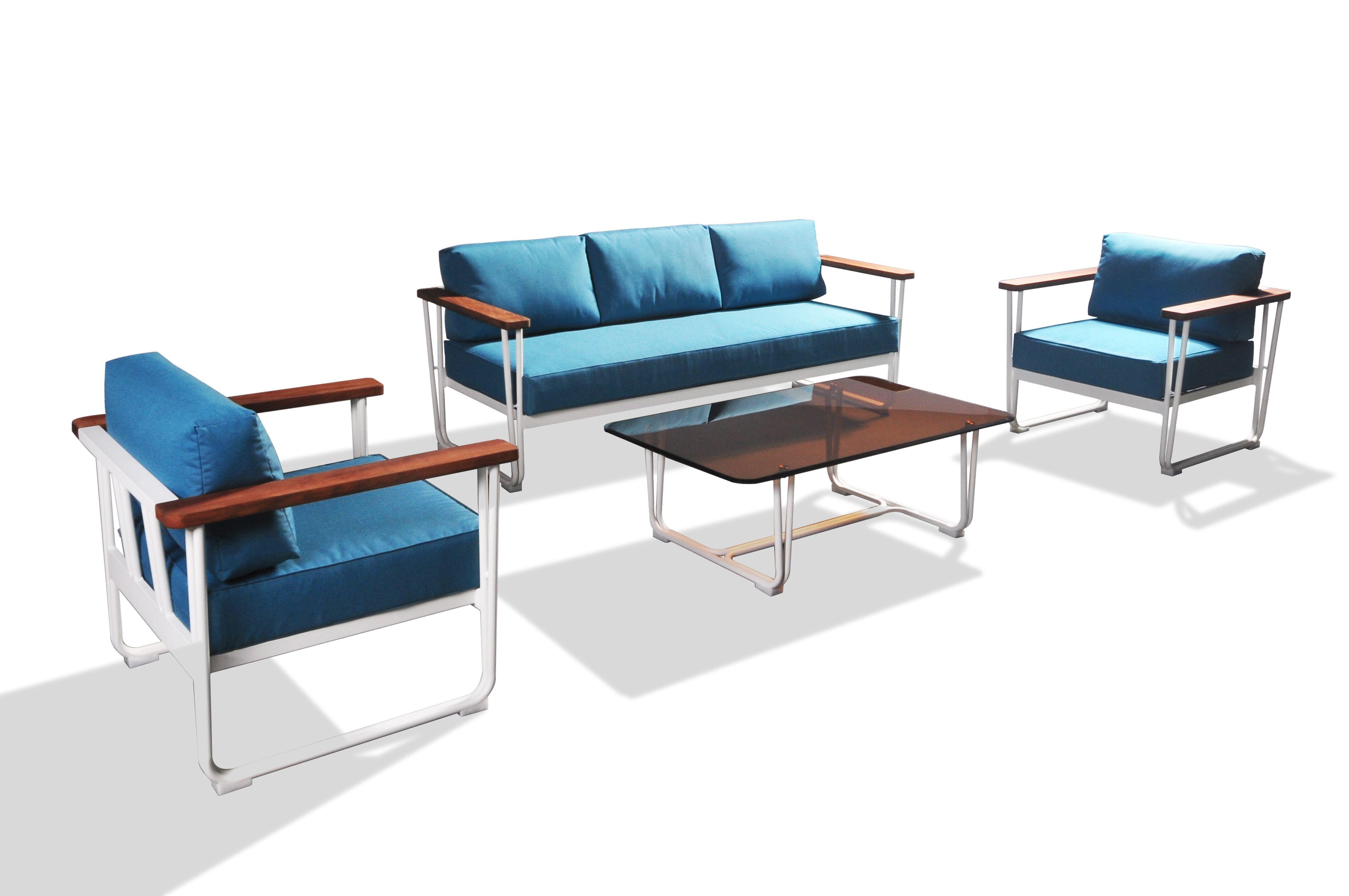 Garten Aluminiummöbel Im Freien Rattan Sofa